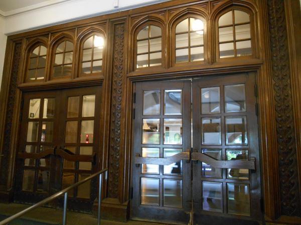 博物館玄関