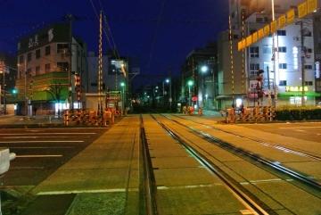 朝の阪堺電軌