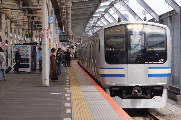 2017-04-29 横須賀線E217系クラY-118編成 逗子行き