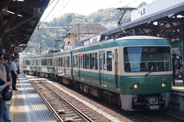 2017-04-29 江ノ電501F 鎌倉行き