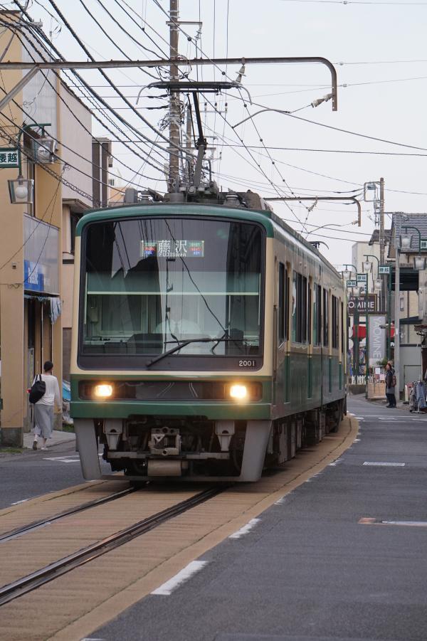 2017-04-29 江ノ電2001F 藤沢行き