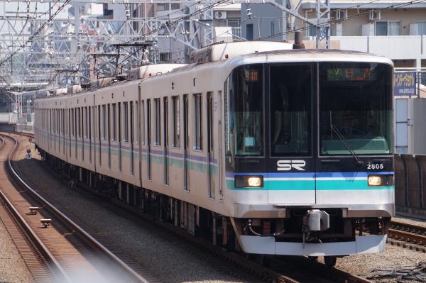 2017-04-29 埼高2105F 各停日吉行き