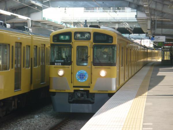 2014-02-01 西武9105F 準急所沢行き
