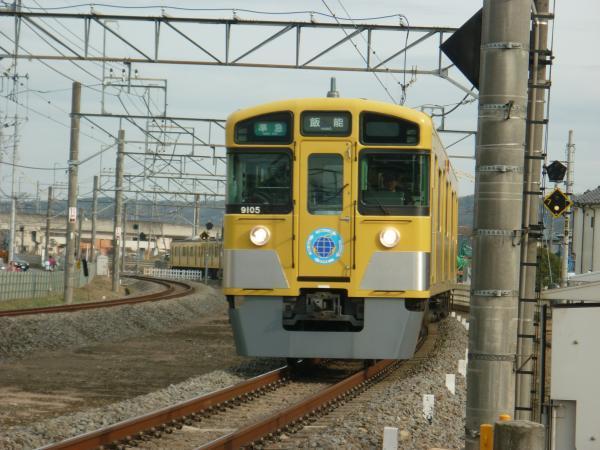2014-02-28 西武9105F 準急飯能行き1