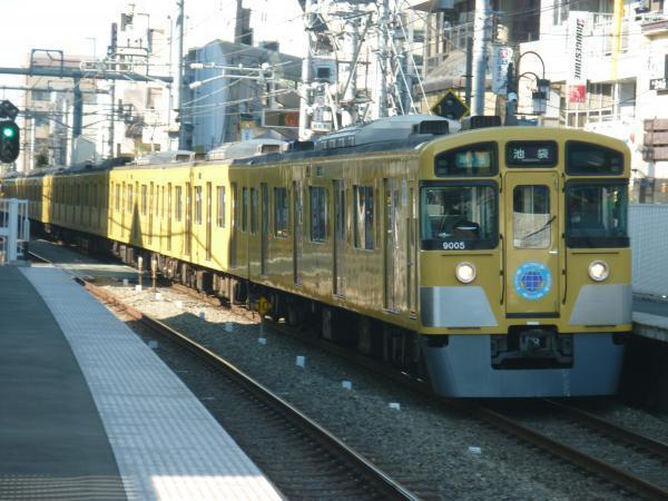 2015-01-11 西武9105F 準急池袋行き 4118レ