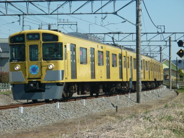 2015-03-27 西武9105F 準急飯能行き 4131レ