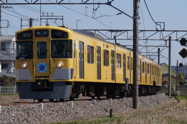 2016-03-22 西武9105F 急行飯能行き 2137レ
