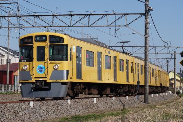 2016-03-22 西武9105F 急行飯能行き 2149レ