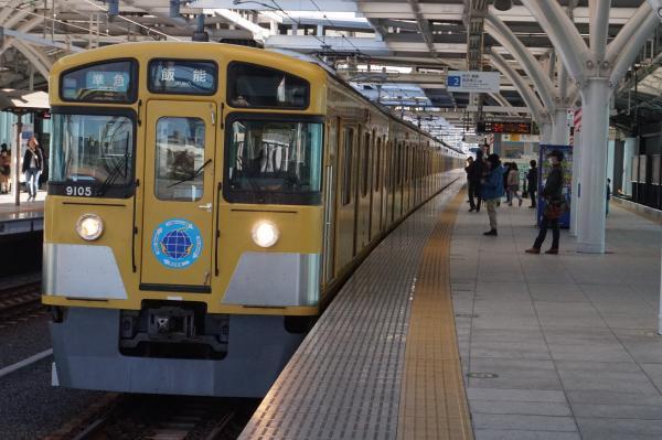 2016-11-12 西武9105F 準急飯能行き 4125レ