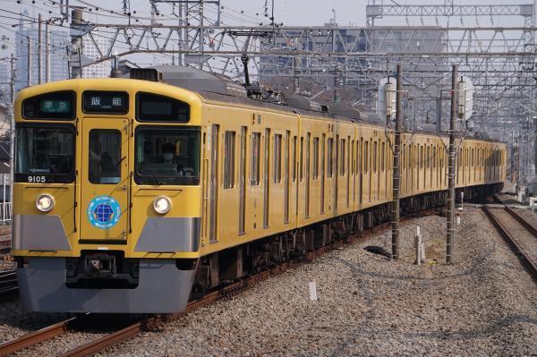 2017-03-19 西武9105F 準急飯能行き 4133レ