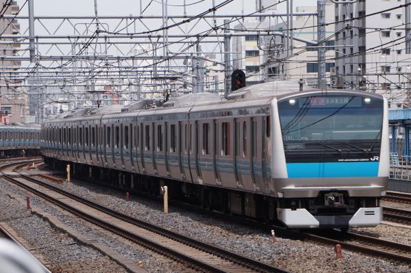 2017-05-03 京浜東北線E233系サイ151編成 快速磯子行き