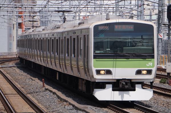 2017-05-03 山手線E231系トウ528編成 東京・品川方面行き