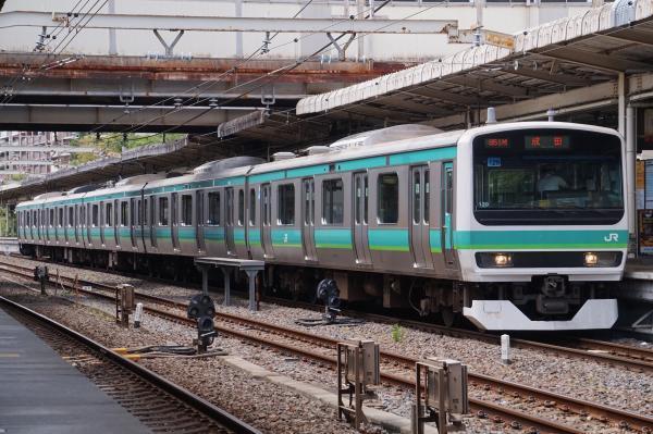 2017-05-03 常磐線E231系マト129編成 成田行き