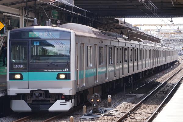 2017-05-03 常磐線E233系マト7編成 各駅停車我孫子行き1