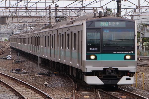 2017-05-03 常磐線E233系マト7編成 各駅停車我孫子行き2