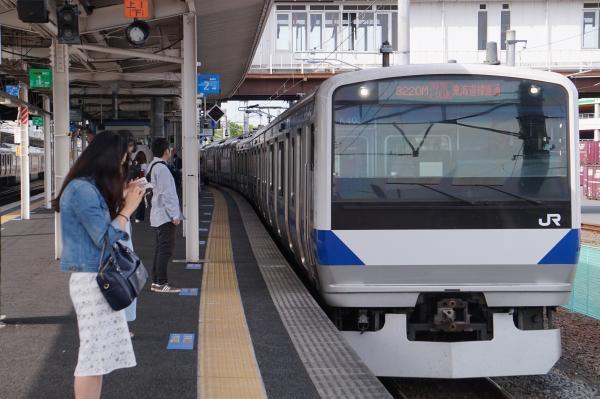 2017-05-03 常磐線E531系カツK403編成 特別快速品川行き