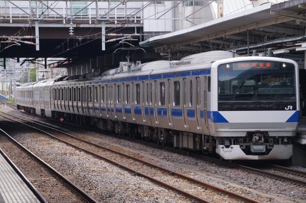 2017-05-03 常磐線E531系カツK410編成 土浦行き