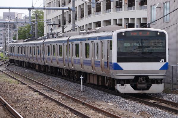 2017-05-03 常磐線E531系カツK453編成 回送