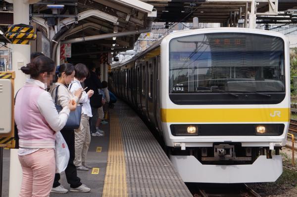 2017-05-03 総武線209系ミツC502編成 津田沼行き