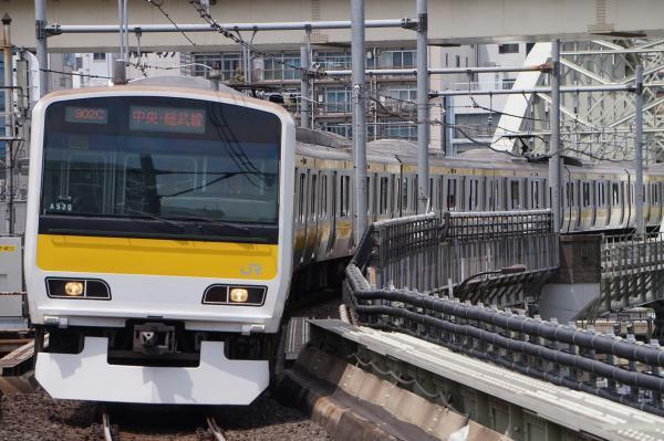 2017-05-03 総武線E231系ミツA520編成 千葉行き