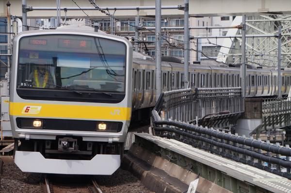 2017-05-03 総武線E231系ミツB5編成 千葉行き