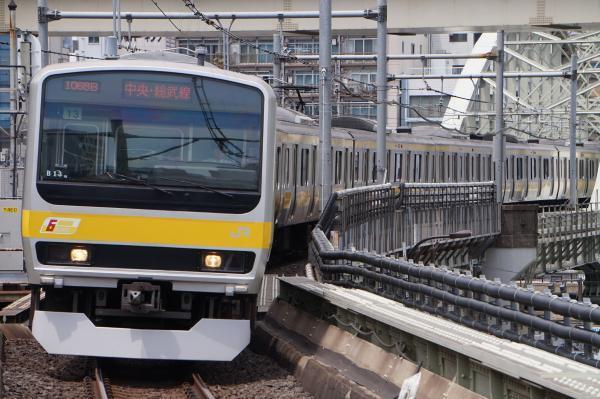 2017-05-03 総武線E231系ミツB13編成 千葉行き