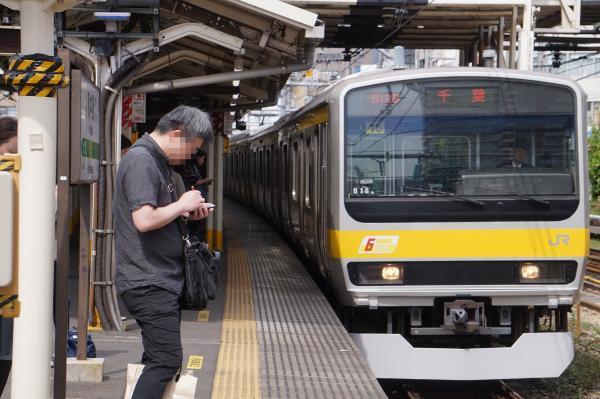 2017-05-03 総武線E231系ミツB15編成 千葉行き