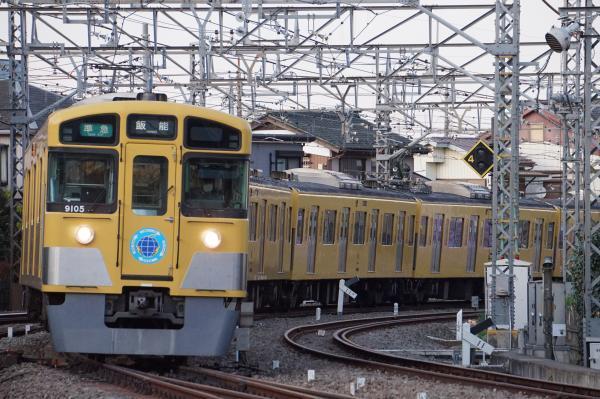 2017-04-15 西武9105F 準急飯能行き 4147レ