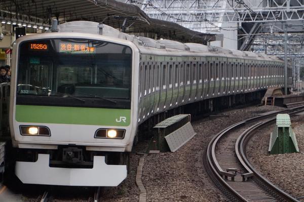 2017-02-18 山手線E231系トウ532編成 渋谷・新宿方面行き