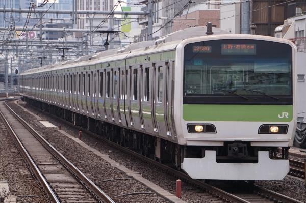 2017-02-18 山手線E231系トウ541編成 上野・池袋方面行き