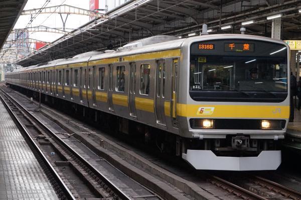2017-02-18 総武線E231系ミツB42編成 千葉行き2