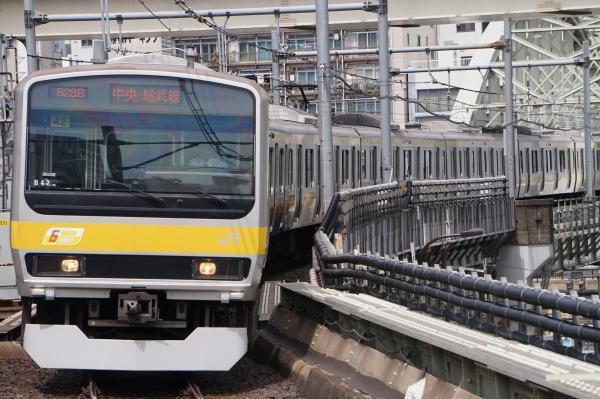 2017-05-03 総武線E231系ミツB42編成 千葉行き