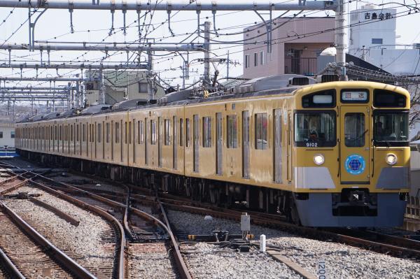 2017-03-11 西武9102F 回送 2123レ