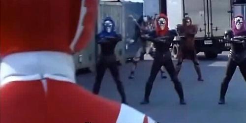 戦隊 ヒーロー ライブマン レッドファルコン