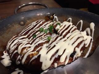 山芋のフワサク鉄板焼