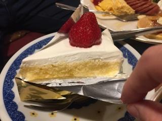 いちごのショートケーキ(ムサコセット)