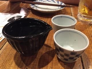 日本酒(日高見 弥助) 片口