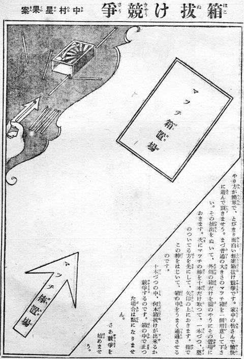 箱抜け競争1931may