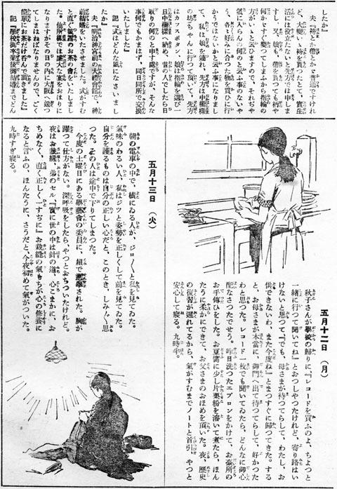 或るお嬢さんの日記1931may