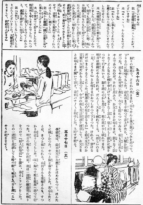あるお嬢さんの日記1931may