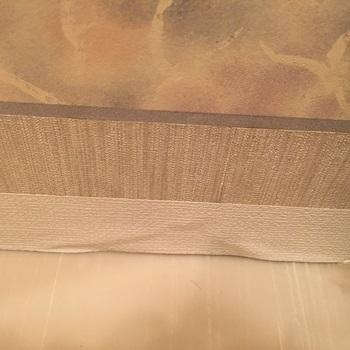 壁紙修理後