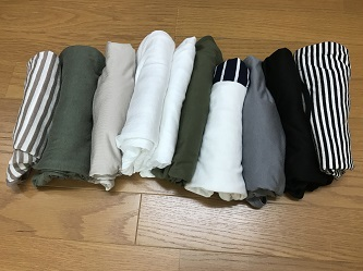 Tシャツの断捨離1