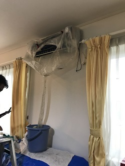 エアコンのクリーニング2