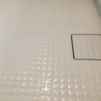 浴室掃除後