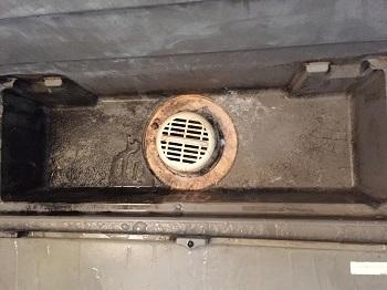 0705浴室排水溝がすごいことに。
