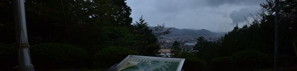 展望台から見た吉田の町