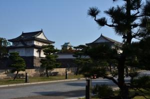 大阪城 大手門へ
