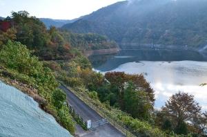 温井ダム 龍姫湖