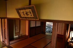 吉水亭 高間から見た邸内の様子