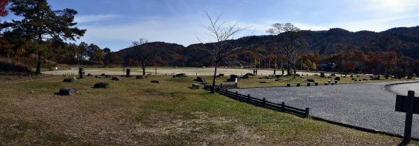 深入山 駐車場の周囲の風景